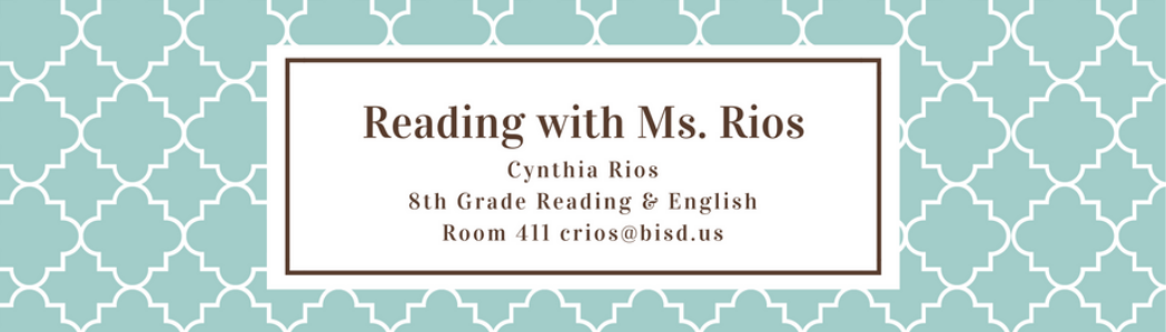 Reading with Ms. Rios